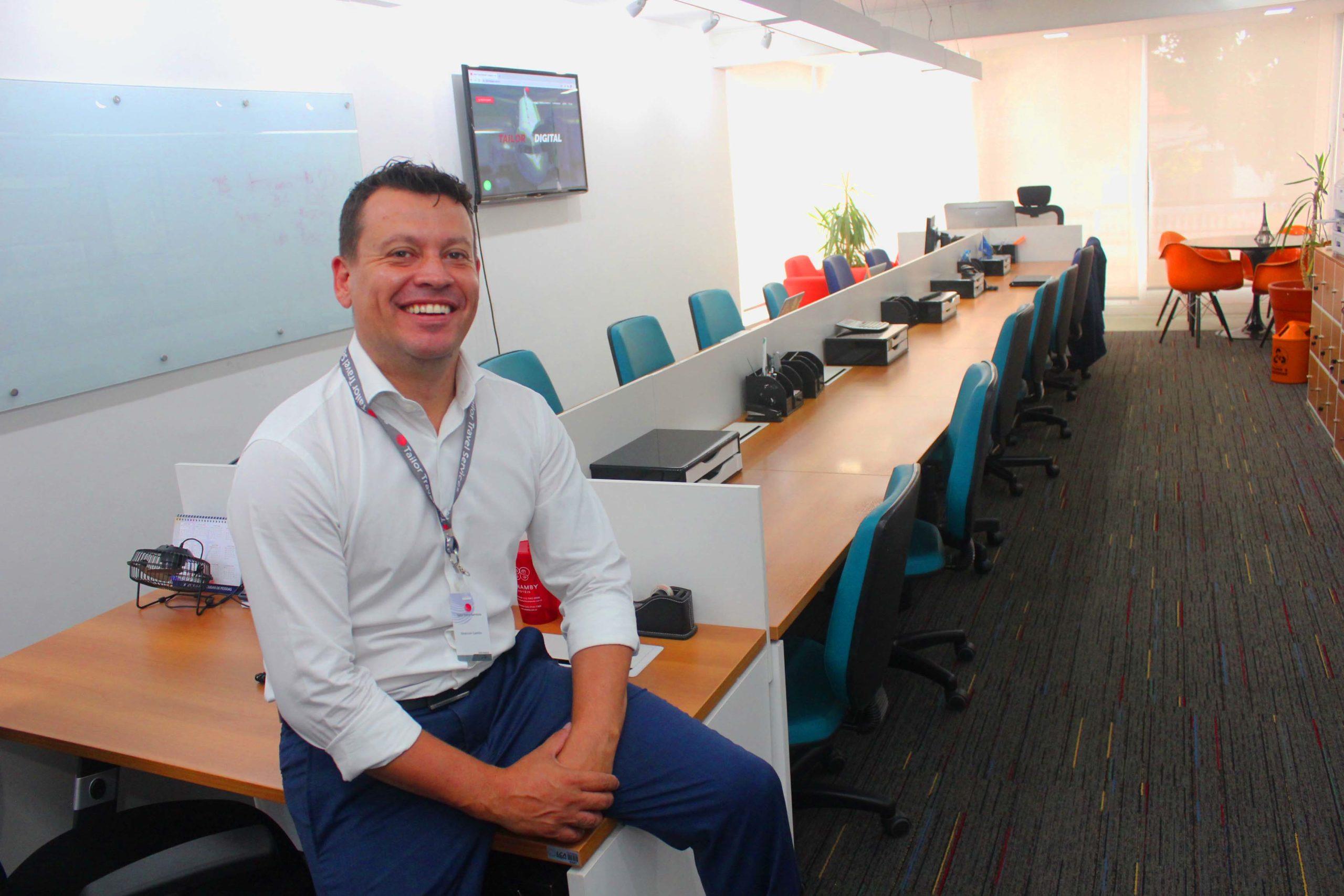 Emerson Camilo, CEO da Tailor Travel Service.