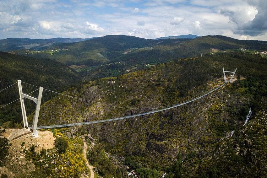 Portugal abre a maior ponte suspensa do mundo