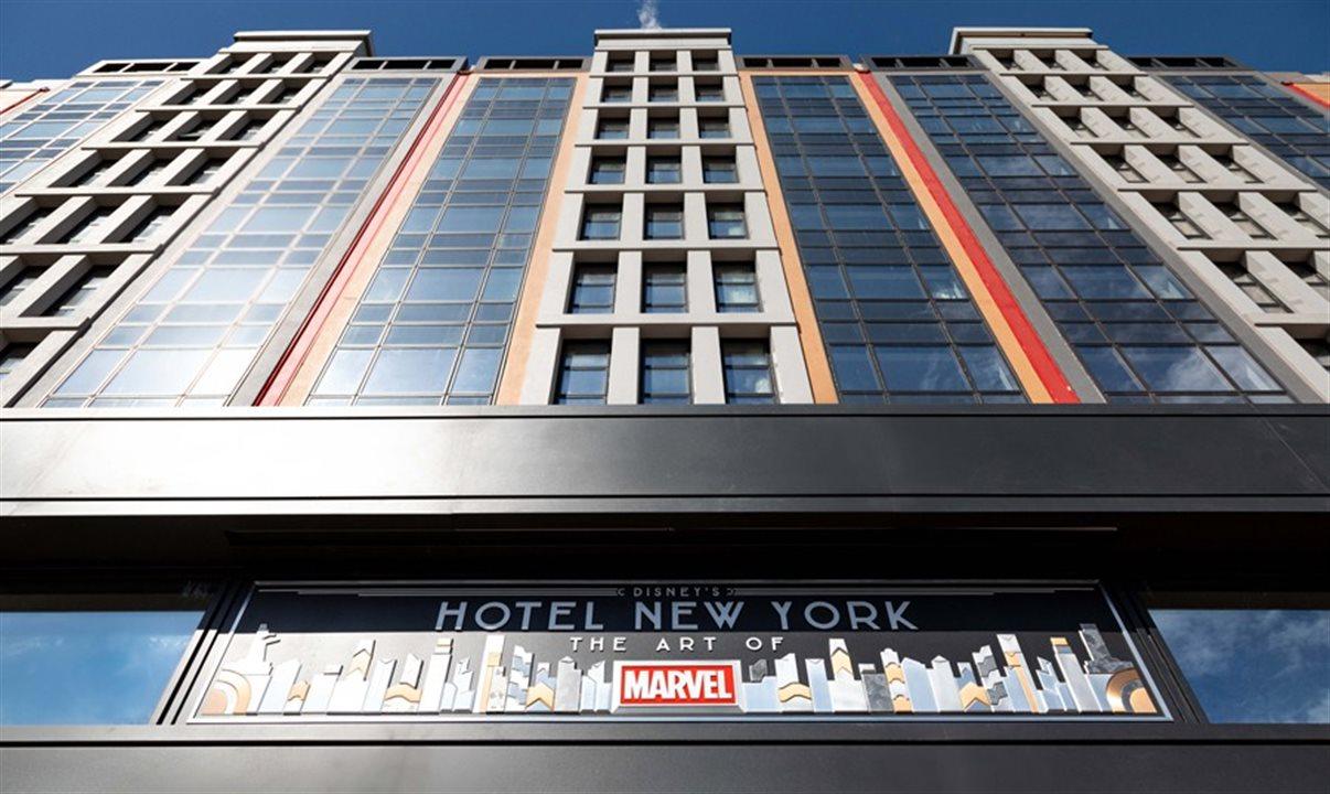 Disneyland Paris inaugura Hotel da Marvel