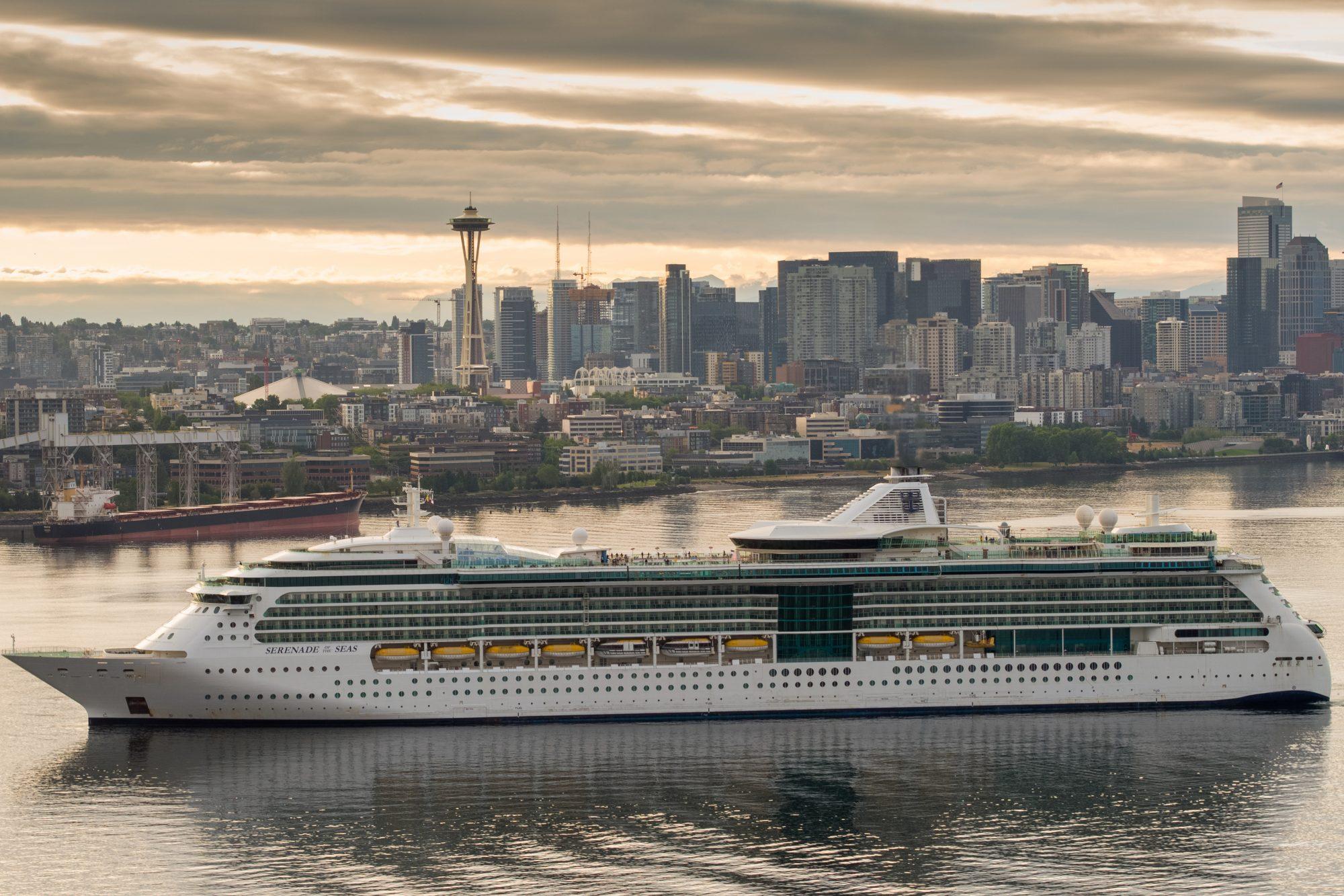 Royal Caribbean embarca para o Alasca pela primeira vez desde 2019